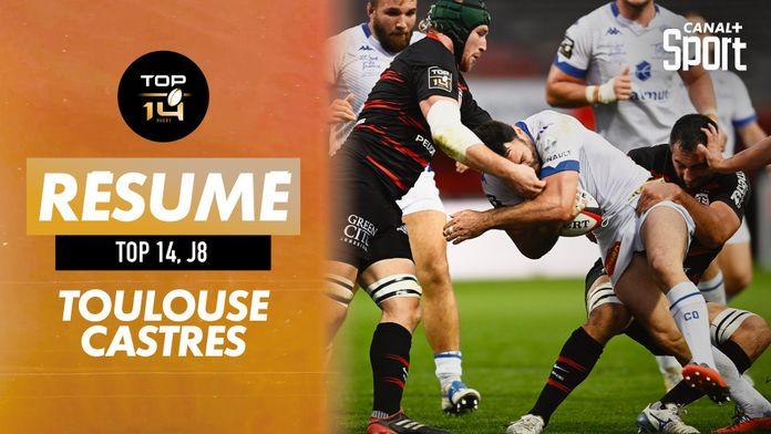 Le résumé Jour de Rugby de Toulouse / Castres : TOP 14