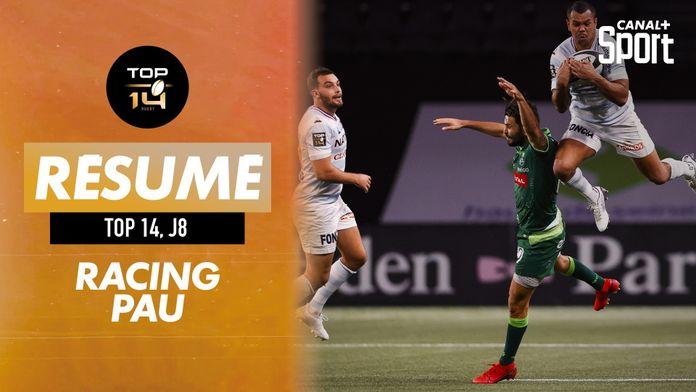 Le résumé Jour de Rugby de Racing / Pau : TOP 14