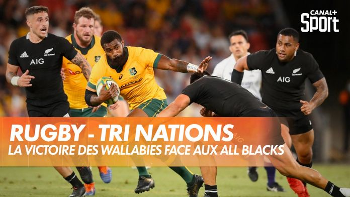 Les images de la victoire des Wallabies face aux All Blacks : Tri Nations 2020