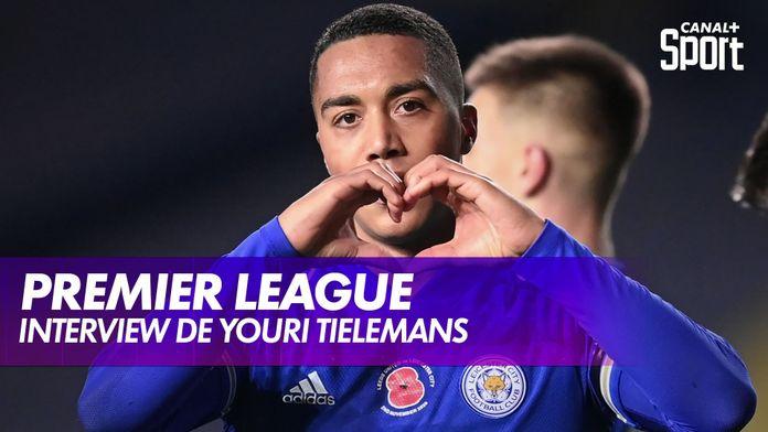 """Interview de Youri Tielemans : """"Mieux terminer que la saison dernière"""" : Premier League"""