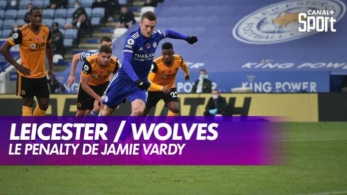 Le penalty de Jamie Vardy : Leicester / Wolverhamtpon - Premier League, 8ème journée