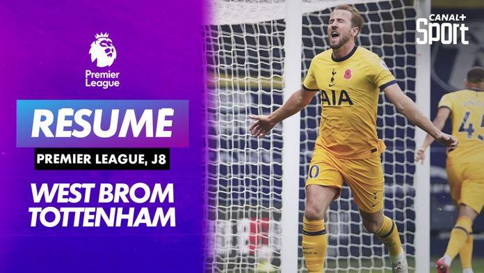 Le résumé de West Bromwich / Tottenham : Premier League