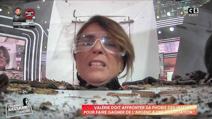 Valérie affronte sa peur des insectes pour une association !