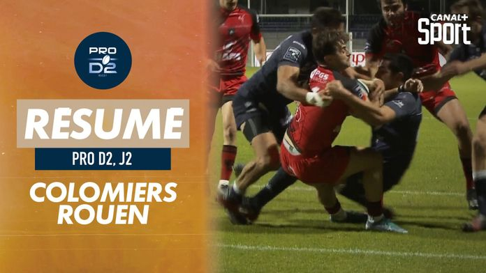 Le résumé de Colomiers / Rouen : Pro D2