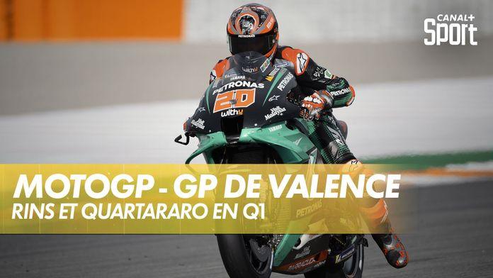 Rins et Quartararo passent par la Q1 : Grand Prix de Valence