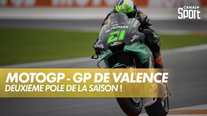 Morbidelli en pole à Valence ! : Grand Prix de Valence