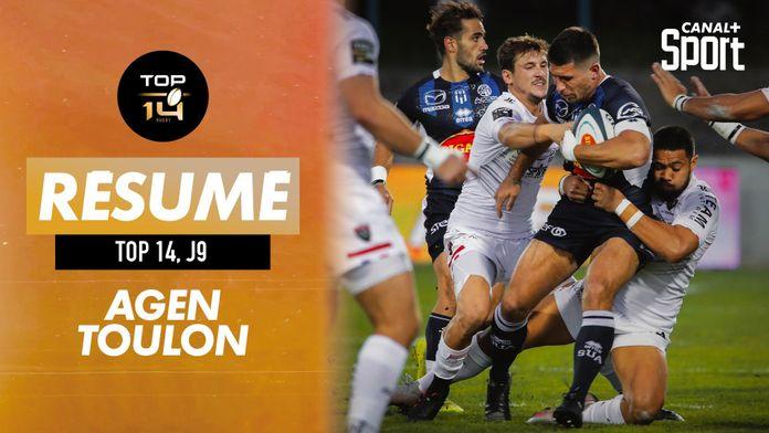 Le résumé Jour De Rugby d'Agen / Toulon : TOP 14
