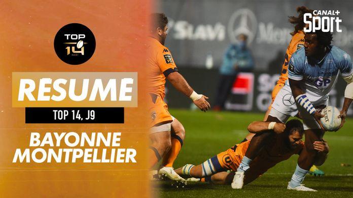 Le résumé Jour De Rugby de Bayonne / Montpellier : TOP 14
