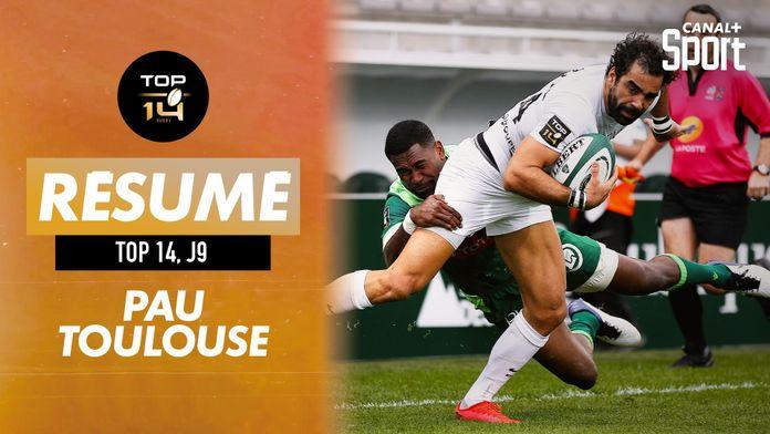 Le résumé Jour De Rugby de Pau / Toulouse : TOP 14