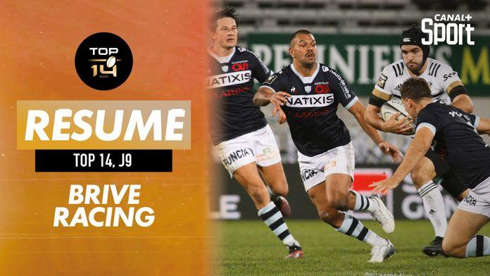 Le résumé Jour De Rugby de Brive / Racing : TOP 14