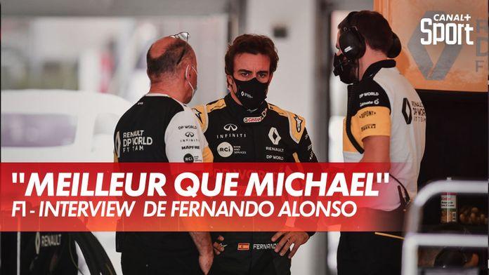 """Alonso : """"Je suis meilleur que Michael"""" - Interview : Grand Prix d'Émilie-Romagne"""