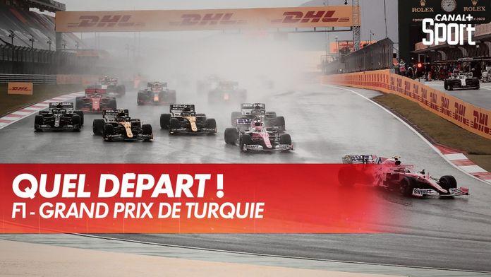 Départ, glissades et accrochages ! : Grand Prix de Turquie