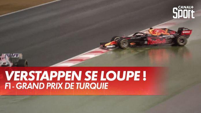 Verstappen part en tête à queue et perd gros : Grand Prix de Turquie