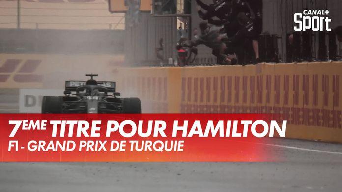 Lewis Hamilton gagne son 7e titre mondial ! - Grand Prix de Turquie : Grand Prix de Turquie