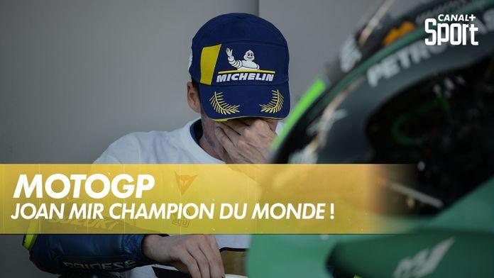Joan Mir est champion du monde ! : Grand Prix de Valence