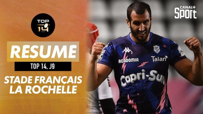 Le résumé de Stade Français - La Rochelle : J9