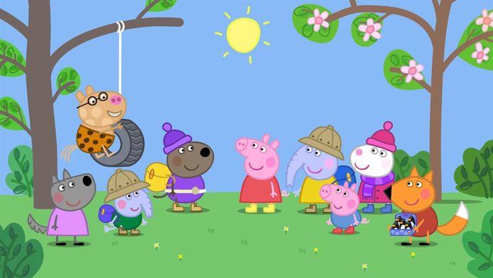 Peppa Pig en anglais