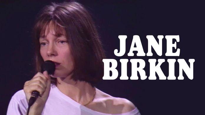 Jane Birkin au Casino de Paris 1991