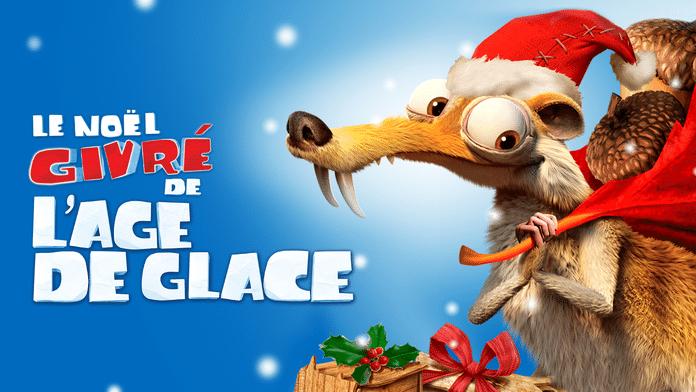 Le Noël Givré de l'Age de Glace