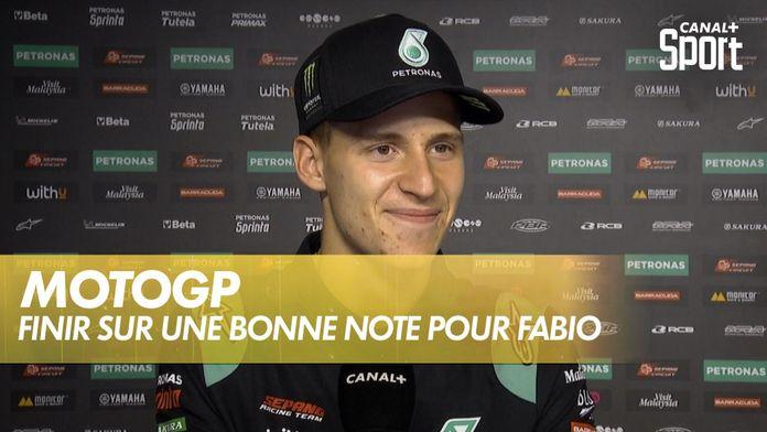 Terminer sur une bonne note pour Quartararo : GP du Portugal