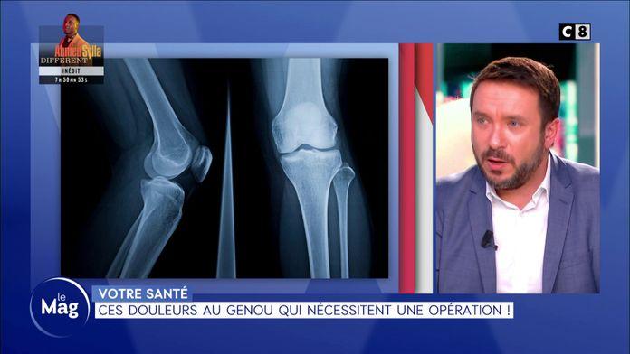 Ces douleurs au genou qui nécessitent une opération !
