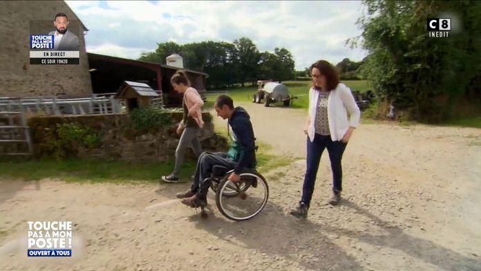 Un agriculteur en situation de handicap fait son entrée dans L'amour est dans le pré