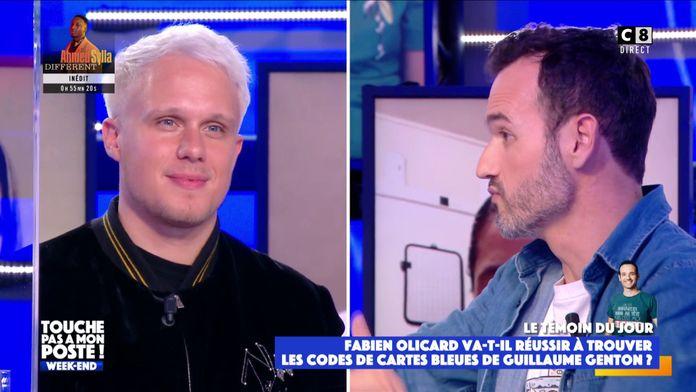 Fabien Olicard va-t-il trouver le code des cartes bleues de Guillaume Genton ?