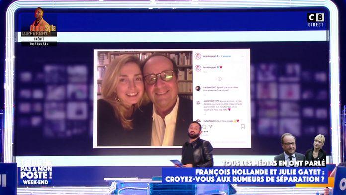 François Hollande et Julie Gayet : En cours de séparation ?
