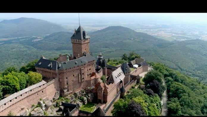 Les châteaux de légende : Le Haut-Koenigsbourg
