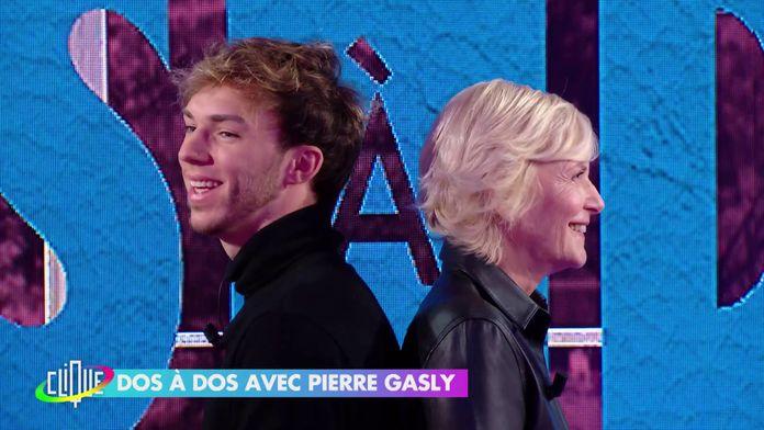Pierre Galsy dos à dos avec Catherine Ceylac