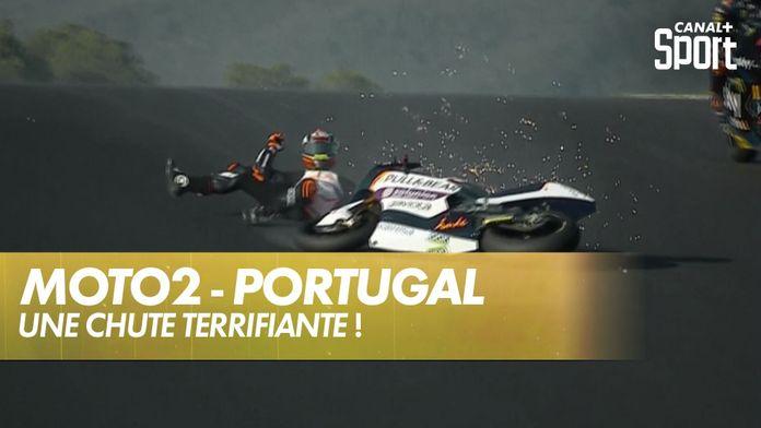 Arón Canet chute au pire endroit de Portimão : Grand Prix de Valence