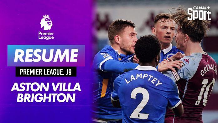 Le résumé d'Aston Villa / Brighton : Premier League