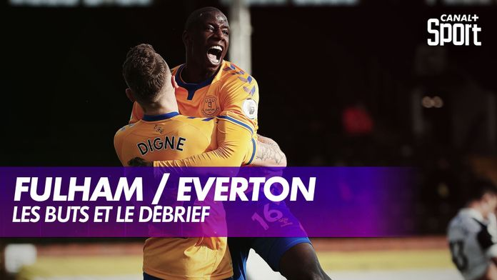 Les buts de Fulham / Everton : Premier League