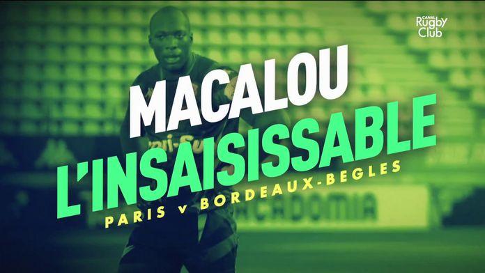 Sekou Macalou l'insaisissable : Canal Rugby Club