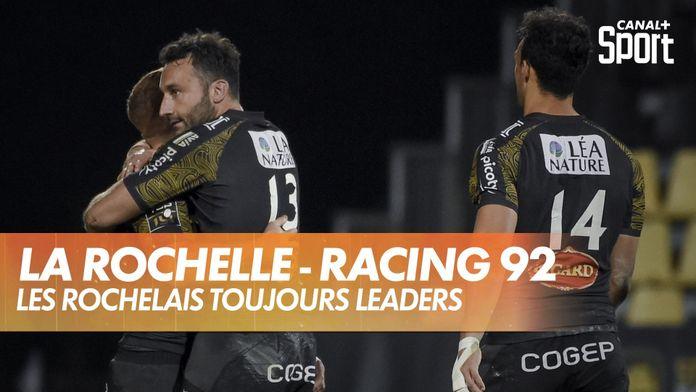 Les Rochelais toujours en tête du Top 14