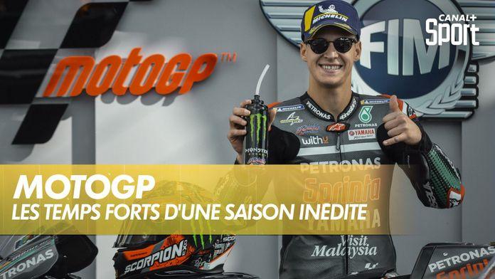 MotoGP : les temps forts d'une saison 2020 inédite