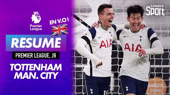 Le résumé de Tottenham- Manchester City en VO : Premier League