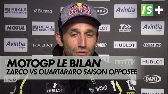 Zarco Vs Quartararo : trajectoires opposées : MotoGP