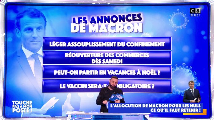 Allocution d'Emmanuel Macron : L'essentiel des annonces