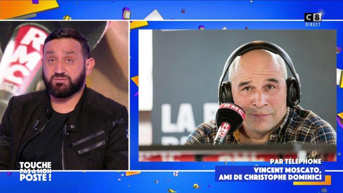 Vincent Moscato, ami de Christophe Dominici, lui rend hommage dans TPMP