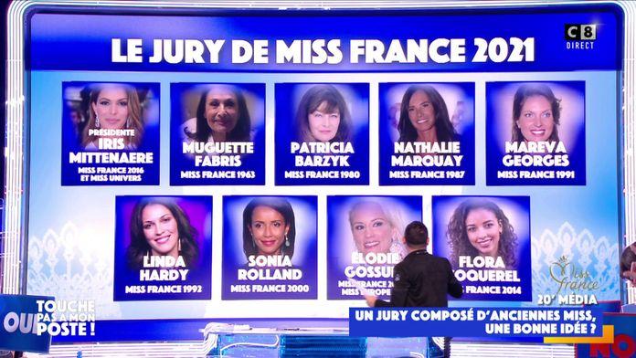 Miss France 2021 : Un jury 100% féminin composé d'anciennes Miss