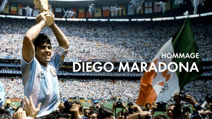 Hommage à Diego Maradona