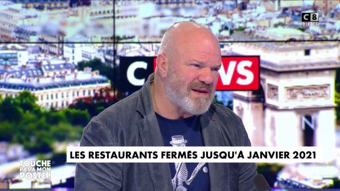 Restaurants fermés : Le gros ras-le-bol de Philippe Etchebest sur CNEWS
