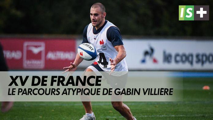 Gabien Villière, un parcours pas comme les autres. : Equipe de France de Rugby