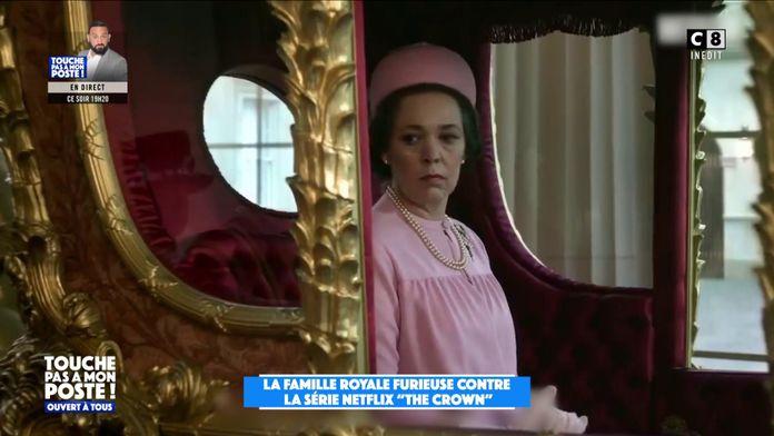 La famille royale britannique serait furieuse contre la série The Crown diffusée sur Netflix