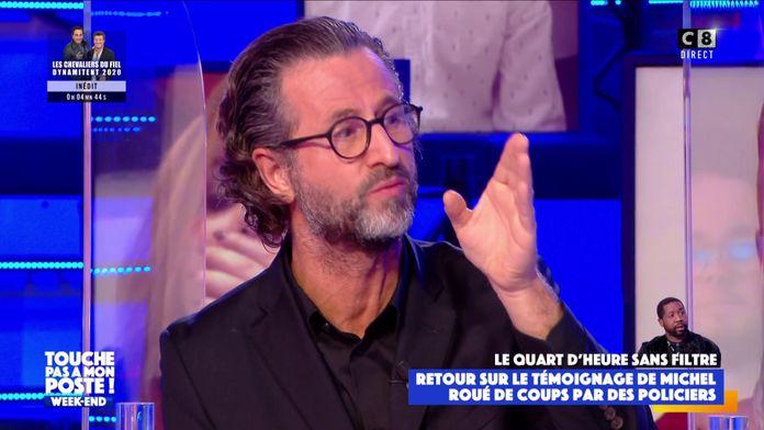 """Nicolas Pernikoff : """"Pour moi, les policiers qui ont agressée Michel, ne sont pas des policiers"""""""
