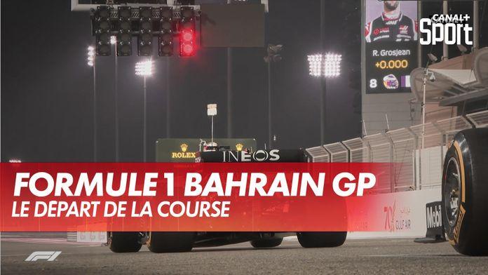 Le crash du départ de la course : Grand Prix de Bahrein