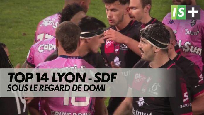 Lyon - Stade français sous le regard de Domi : Top 14 - disparition Dominici