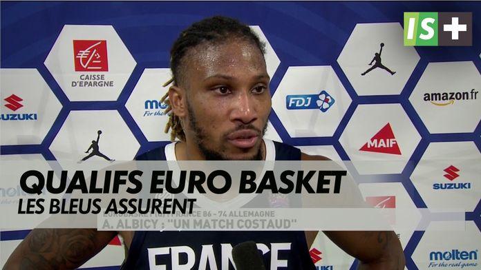 "Albicy : ""Un match costaud"" : Qualifs Euro basket"