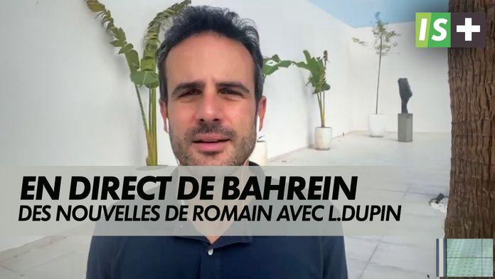 Des nouvelles rassurantes pour R.Grosjean : Grand prix de Bahrein